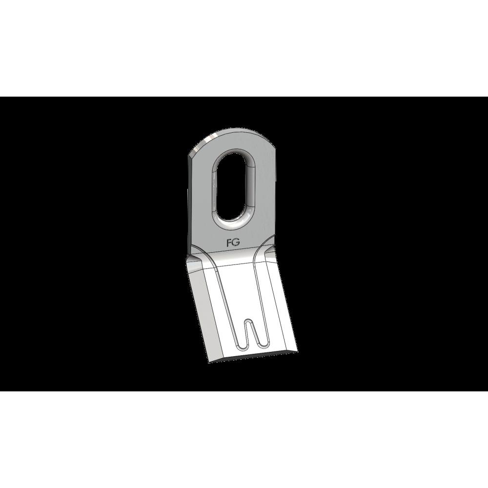 Couteau renforcé 118 - 105.40.6 Long. 99
