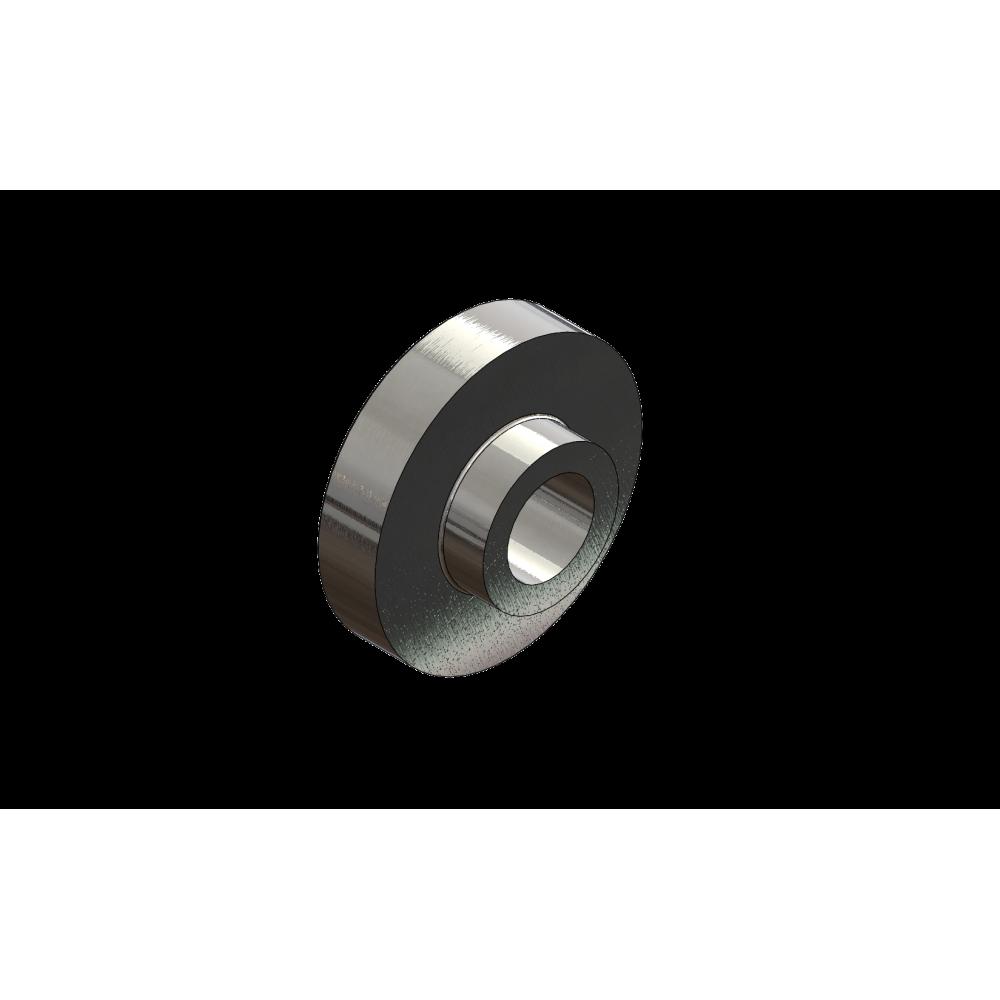 Entretoise épaulée - 35,5 x 24.épaul. 5mm - Ø ext. 40mm