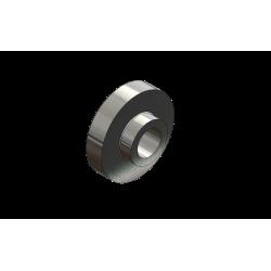 Entretoise épaulée - 27 x 25,4 épaul. 9,25mm Ø15,5