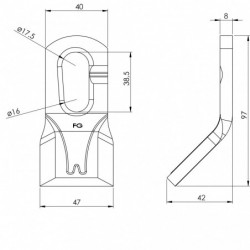 Couteau 133MR - SPEED SYSTEM - 408 MR plan