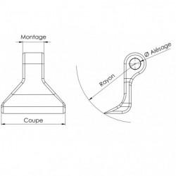 Marteau de broyage - RM 43 plan