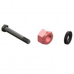Kit 10 screw 14x140 +nut+washer - 03 675 29